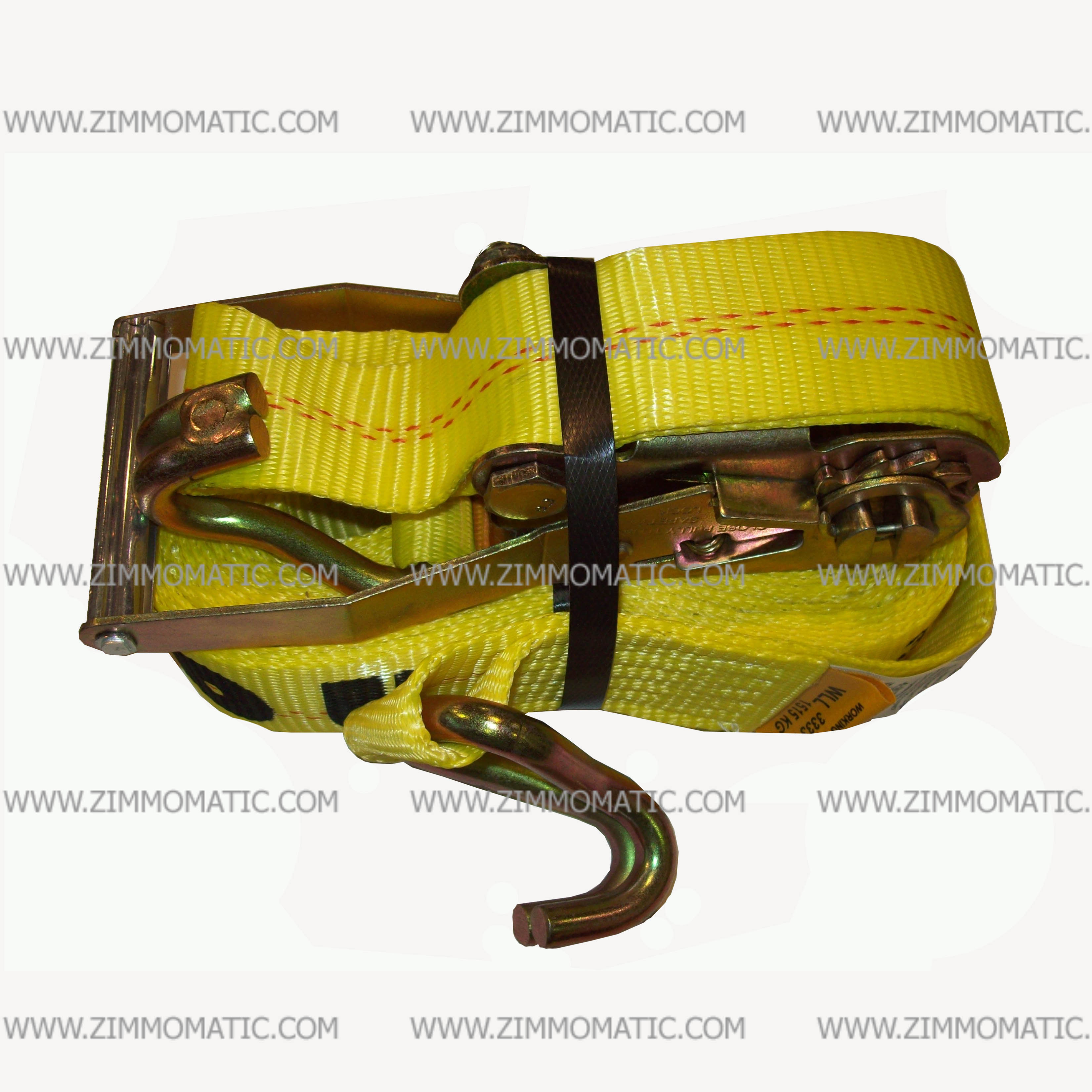 ratchet strap, 2 inch x 27 foot, wire hook