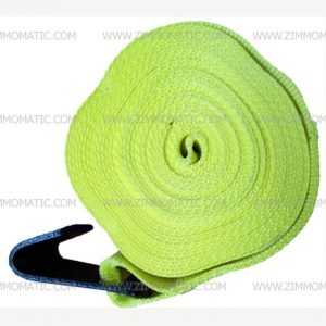 standard flat hook winch strap, 4 inch x 30 foot