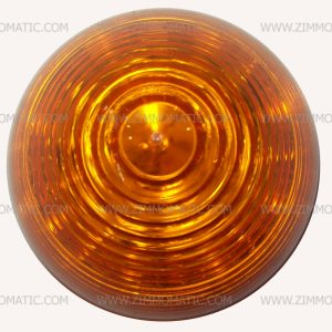cone light, 2½ inch amber