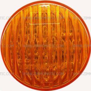 light, 2½ inch amber