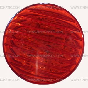 light, 2½ inch red LED