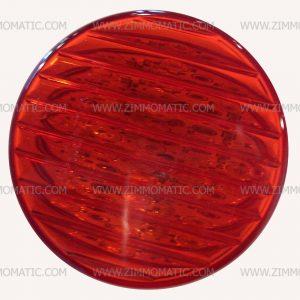light, 2½ inch red LED