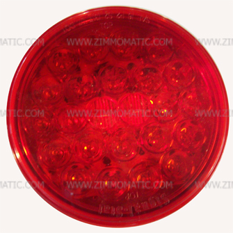 light, 4 inch red