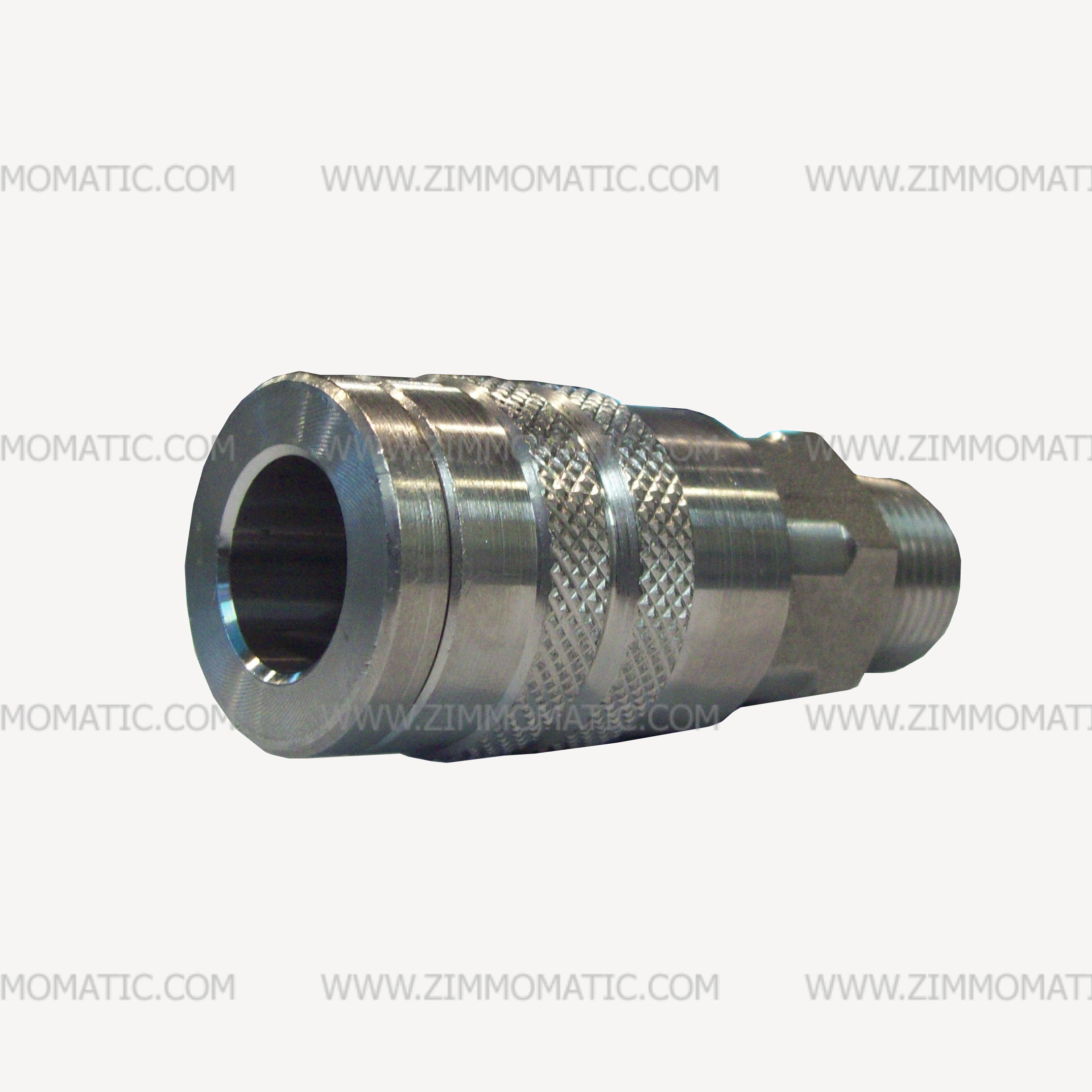 stainless steel quick coupler, 1/2 inch, female socket, male thread