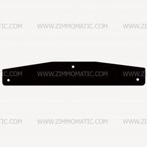 steel backer plate, mudflap weight