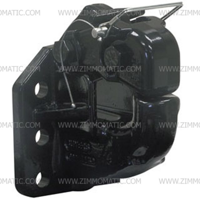 50 ton manual/air compensated pintle hook
