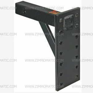 6 position pintle hook mount