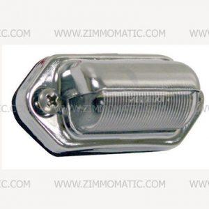 12V LED LICENSE PLATE LIGHT, EXTERNAL MOUNT